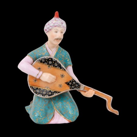 Lute-player Persian