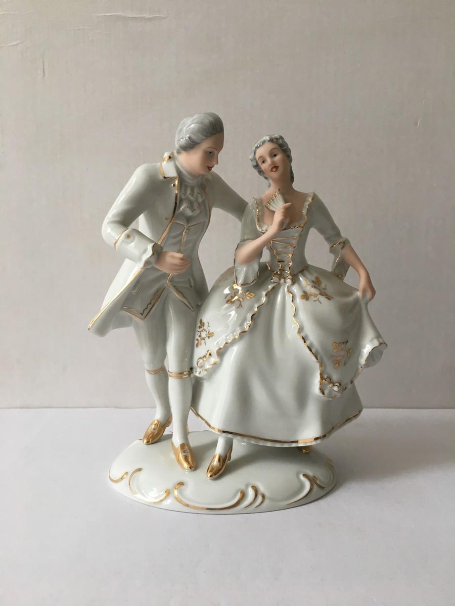 Танцевальная пара Рококо