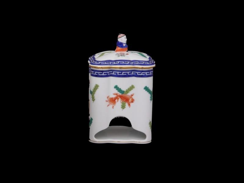 Коробка для чайных пакетиков, ручка в виде Мандарина