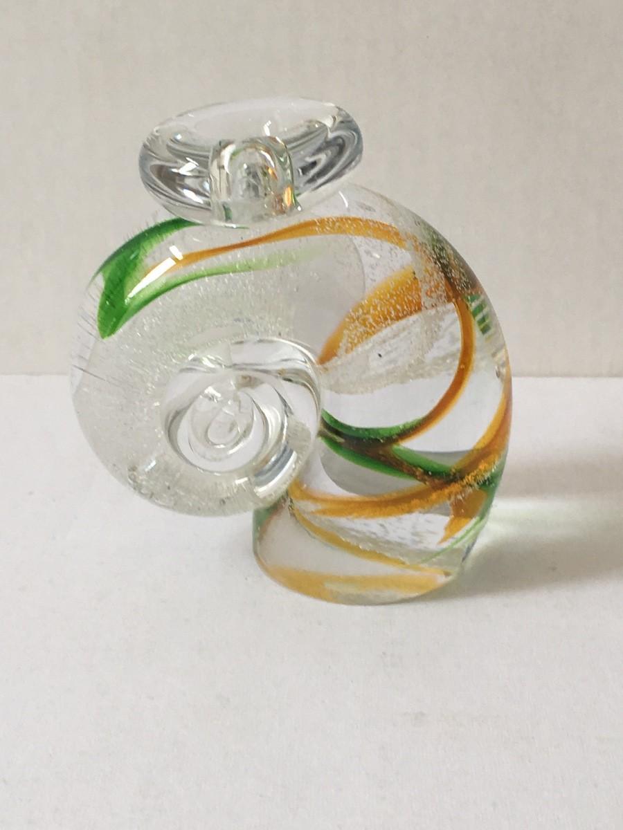 Оранжевая/зеленая спираль