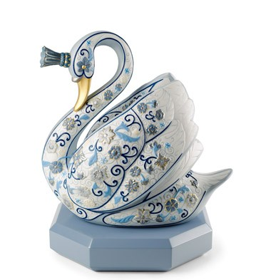 The swan princess (enamels)