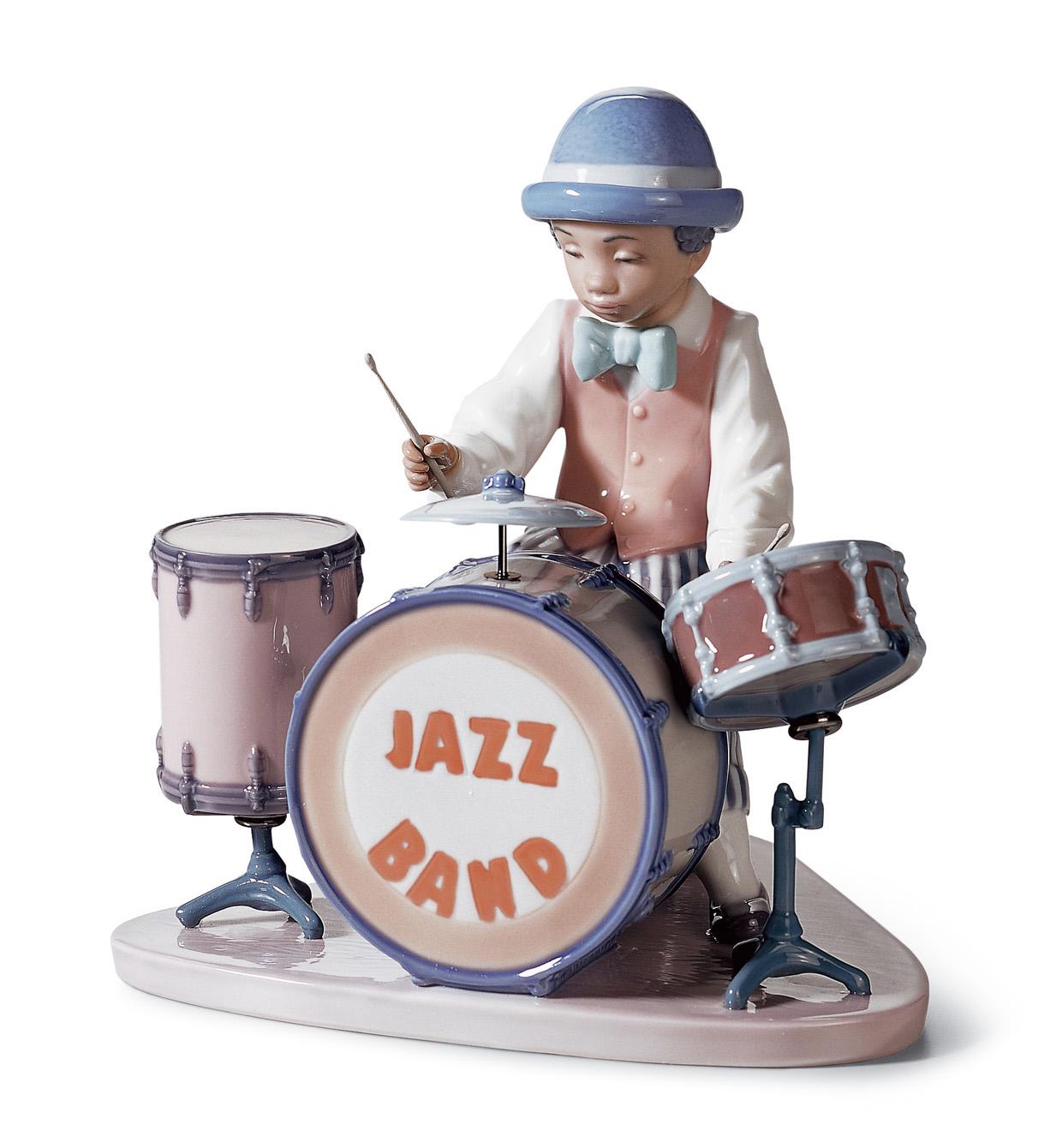Джазовый барабанщик