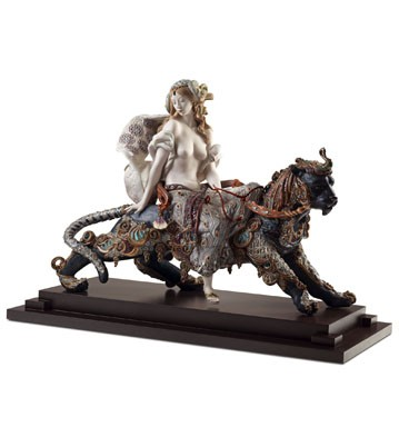 Bacchante on a panther