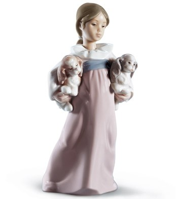 Arms Full of Love Girl Figurine