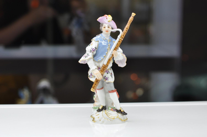 Музыкант с фаготом