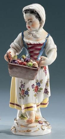 Девочка с овощами