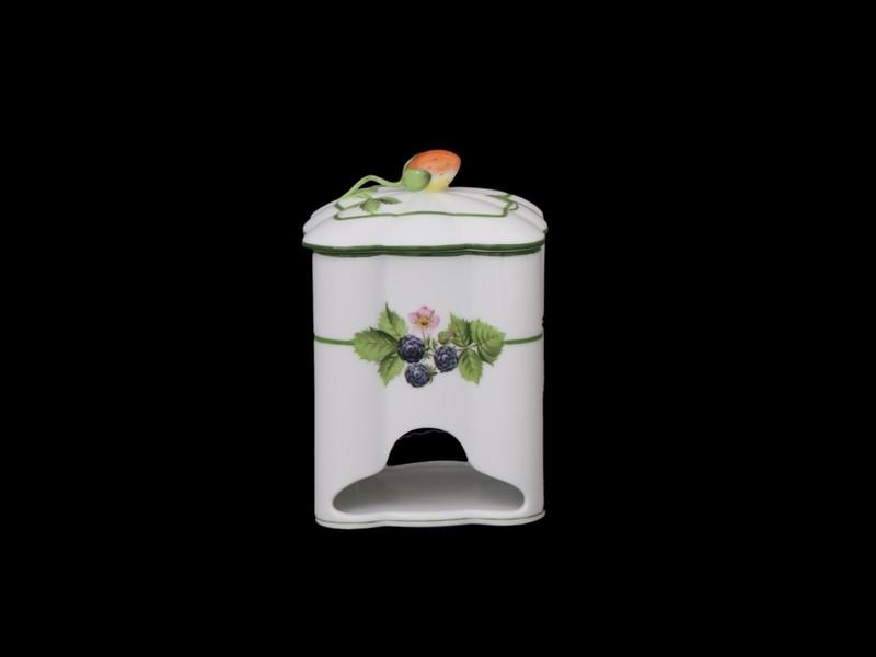 Коробка для чайных пакетиков, ручка в виде клубнички