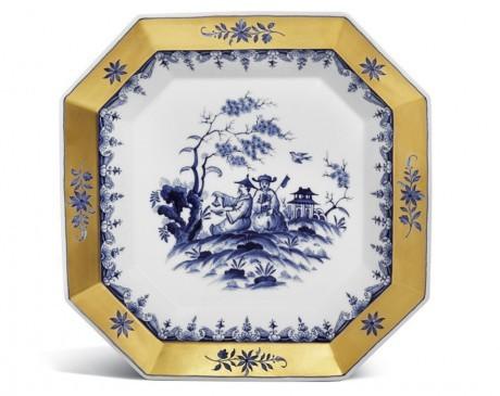 Тарелка, роспись по Хёрольду
