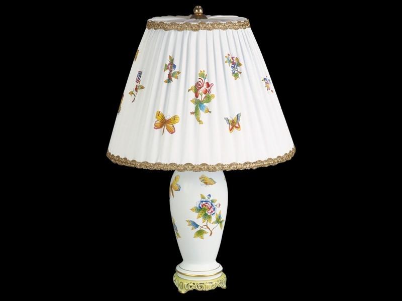 Лампа с фарфоровой вазой