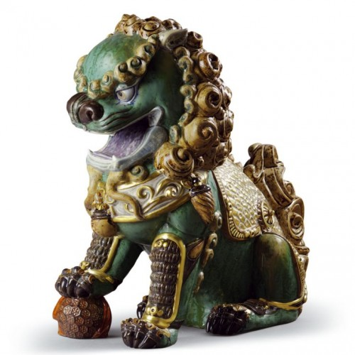 Oriental Lion (green)