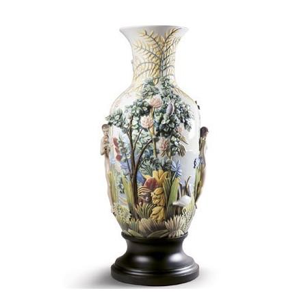 Paradise Vase Sculpture. Limited Edition