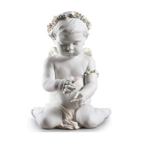 Cherub of Our Love Angel Figurine. Limited Edition