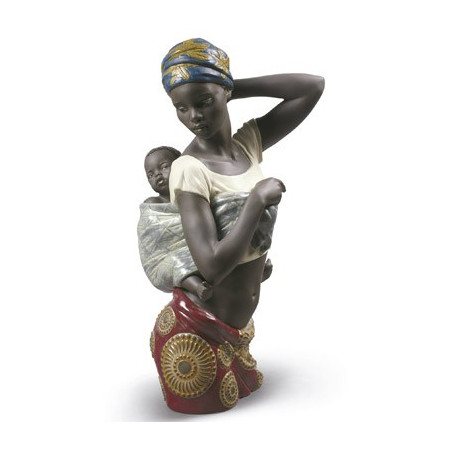 African Bond Mother Figurine