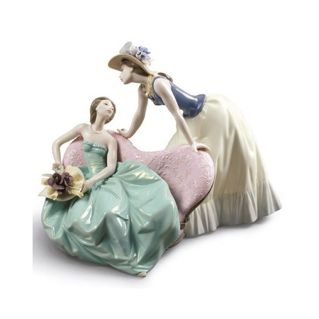 How Is The Party Going? Women Figurine