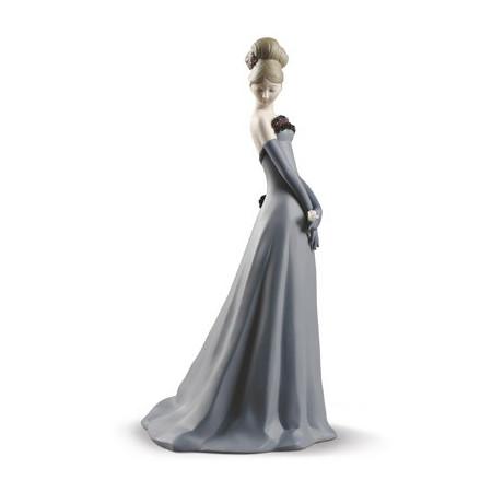 Gala Dance Woman Figurine