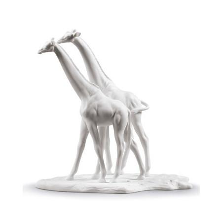 Пара Жирафов (Белые)