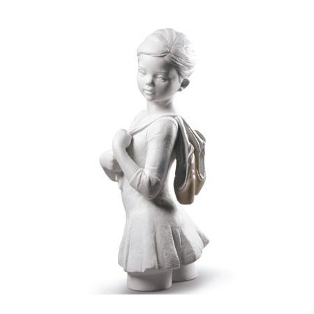 My Dance Class Ballet Figurine. White