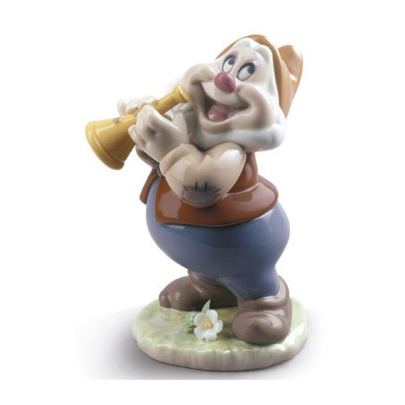 Happy Snow White Dwarf Figurine