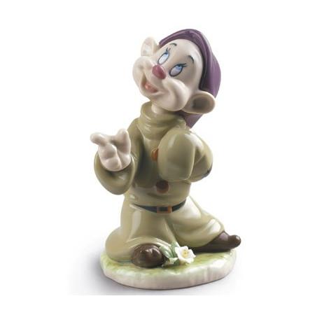 Dopey Snow White Dwarf Figurine
