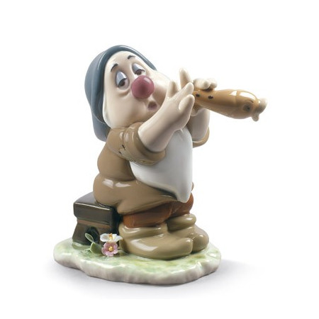 Sleepy Snow White Dwarf Figurine