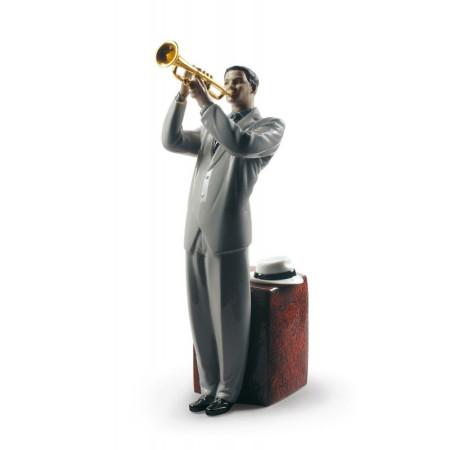 Jazz Trumpeter Figurine