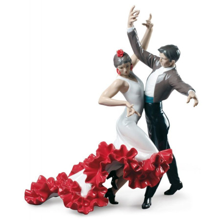 Flamenco dancers Couple Figurine