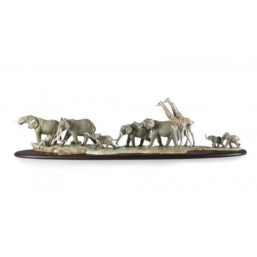 Дикие животные Африканской Саванны