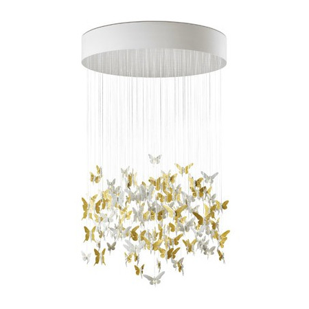 NIAGARA CHANDELIER 1,35M-GOLD (CE/UK)