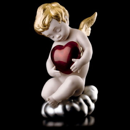 Love Red Heart Figurine