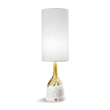 NATURO-TABL.LAMP ORGANIC NATURE(GOLD)-CE