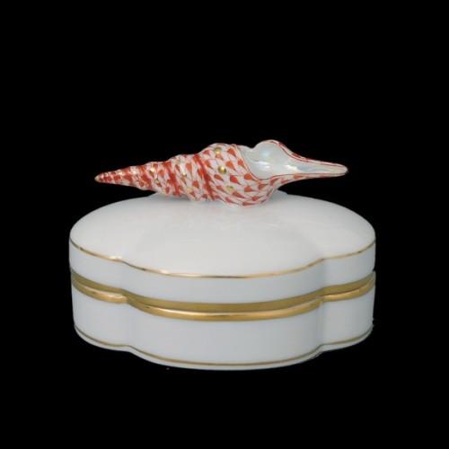 Декоративная коробочка, ручка в виде улитки