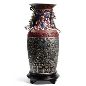 Восточная ваза (синяя)