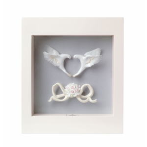 Романтические голуби (рамка)