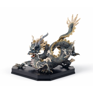 Great dragon (blue and golden)