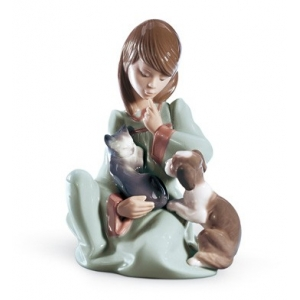 Cat Nap Girl Figurine