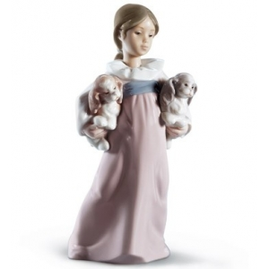 Arms Full of Love Girl Figurine