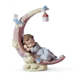 Heavens' LullaBy Boy Figurine