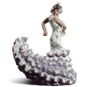 FLAMENCO FLAIR (GREEN / PURPLE)
