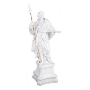 Figure Apostle Jacobus, White, signature Meissen exclusive collection, limited, H 52 cm