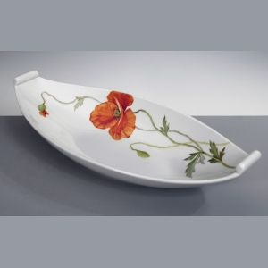 Plate for garnish