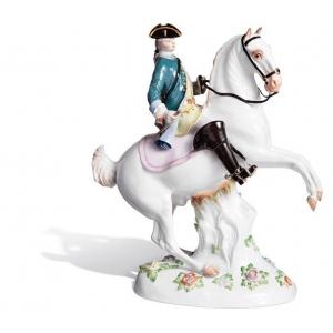 Охотник на лошади