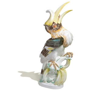 Hornbill, Coloured, without gold, Limited Masterpieces, H 81 cm