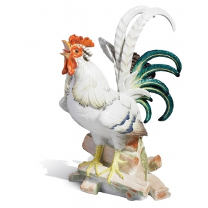 Rooster, H 35 cm