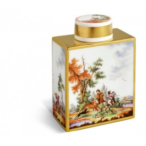 Tea caddy with