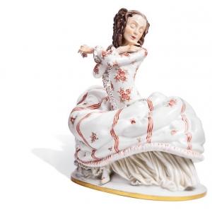 Female Dancer, H 29 cm