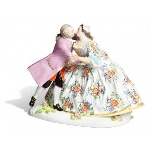 Love couple, H 20 cm
