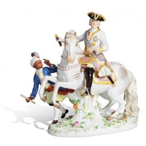 Empress Elisabeth II on horseback, H 23 cm
