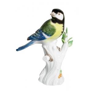Птица на ветке, H 14 см