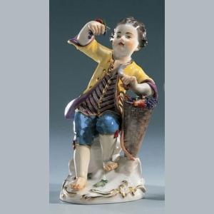 Мальчик с корзиной винограда