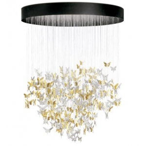 NIAGARA CHANDELIER 2M GOLD (CE/UK)